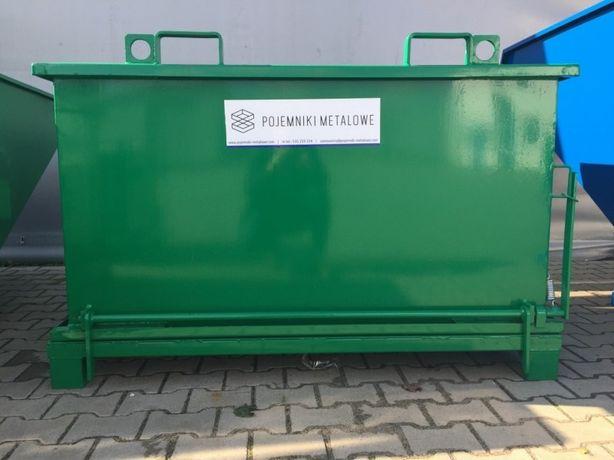 PMDC otwierany dołem kontener, 0,75 m3