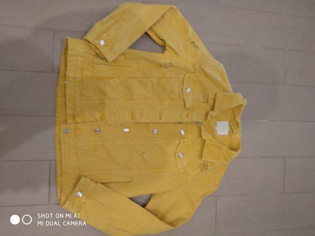 Джинсовка куртка джинсовая Zara