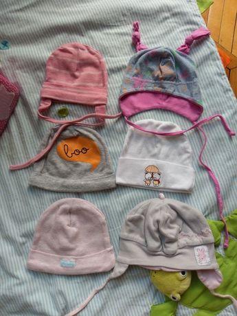 Czapeczki niemowlece