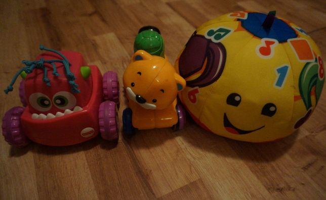 Fisher Price zestaw zabawek idealny do raczkowania