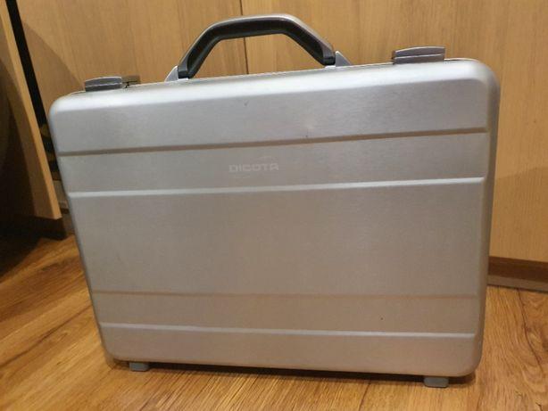 Torba -walizka na latopa Dicota AluSlight srebrna