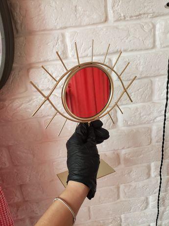 Зеркало ikea  око с подставкой дзеркало глаз