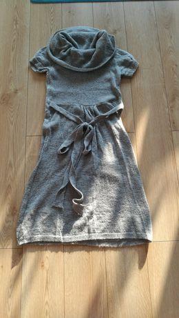 Sukienka z wełną