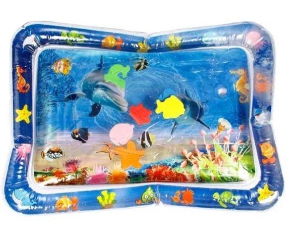 Коврик игровой с водой и рыбками