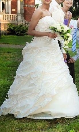 Suknia ślubna Classa C-649 165 firmowa Buty Gratis