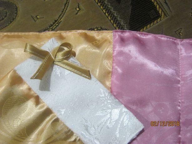 Постельный комплект для кукол (в коляску, кроватку), на кроватку 25*50