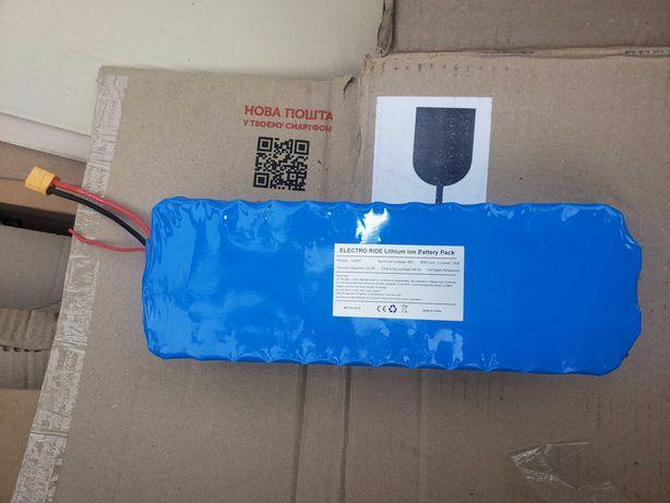 АКБ на электровелосипед 48в батарея