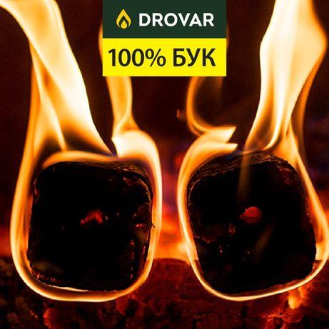 Брикети Pini Key • Євродрова • Бук • Від виробника • Доставка