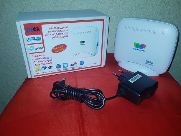 Роутер ZTE H108N (прошивка Tp-link TD-W8968) с USB
