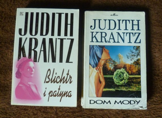 Judith Krantz - Blichtr i patyna + Dom mody GRATIS