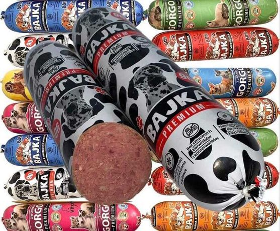Karma baton 29kg dla psa i kota 80% mięsa WYSYŁKA 24h POBRANIE GRATIS