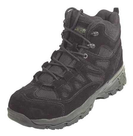 """Ботинки """"TROOPER SQUAD 5"""" от компании """"Sturm Mil-Tec"""". Черные.Размеры"""