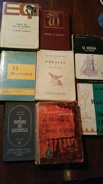 Livros Autores Portugueses e Ingleses