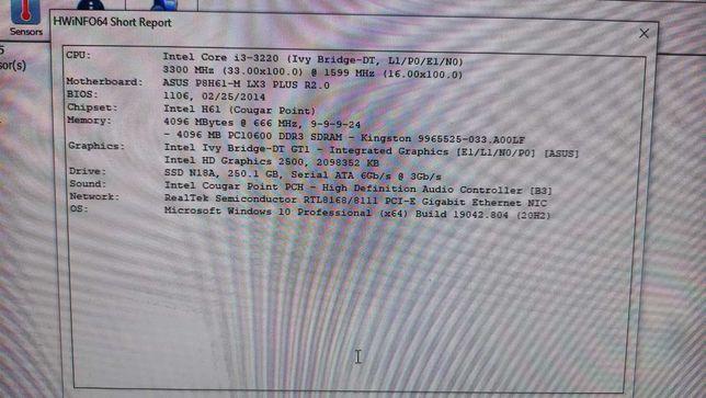Computador Core i3 3220 com Windows 10 ORIGINAL