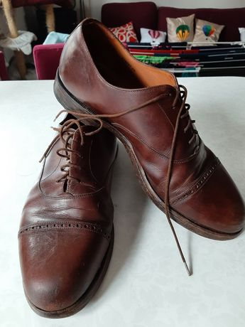 Buty szwajcarskiej firmy Bally, 43, skórzane