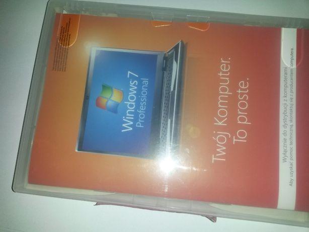 Płyta instalacyjna Windows 7 Professionall