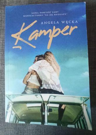 Książka Kamper Angela Węcka o lesbijkach dla kobiet powieść lesbijska