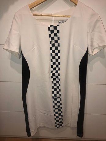 Biało- czarna sukienka