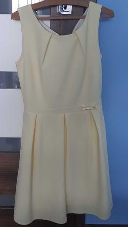 Sukienka cytrynowa rozm s