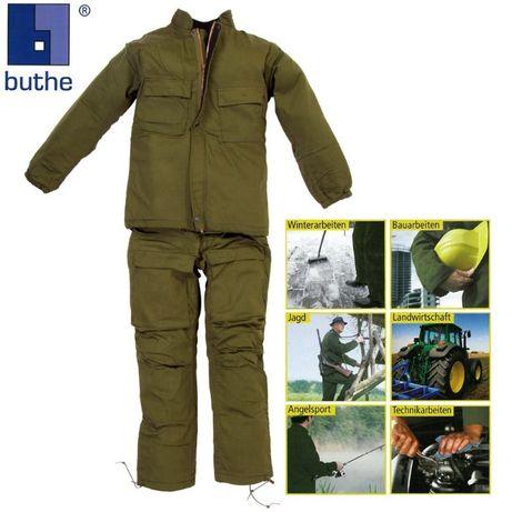 kurtka myśliwska + spodnie myśliwskie THERMO zestaw NOWY