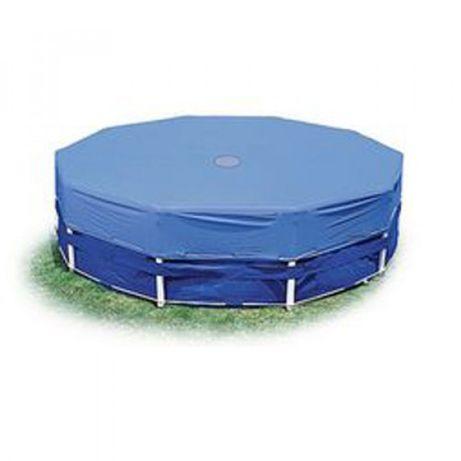 Тент 28032 для круглых каркасных бассейнов, диаметр 457см, в нал. один
