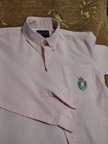 Рубашка на мальчика 2-3 года, сорочка нарядная б/у