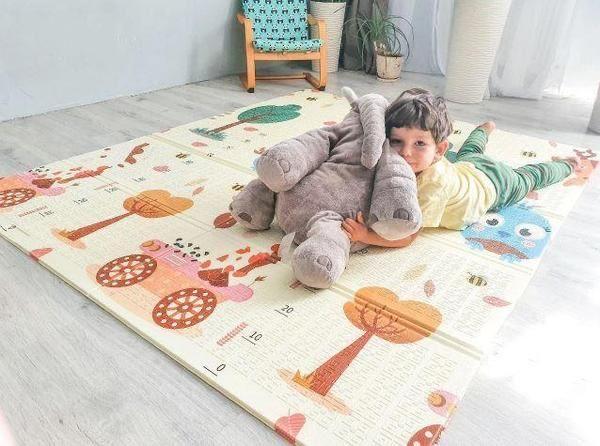 Дитячий розвиваючий двосторонній термо килимок