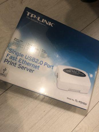 Tp Link single port usb 2.0 Print server drukarka modem