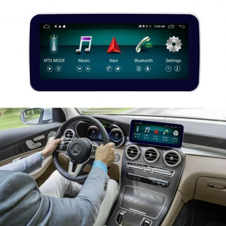 Multimédia Android Mercedes Classe C W205 GLC X253 GPS UBS Wifi