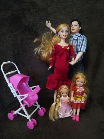Семья кукол, США