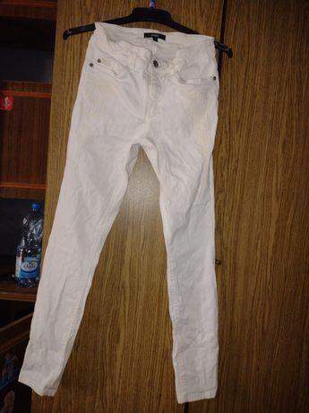 Oddam spodnie białe rurki