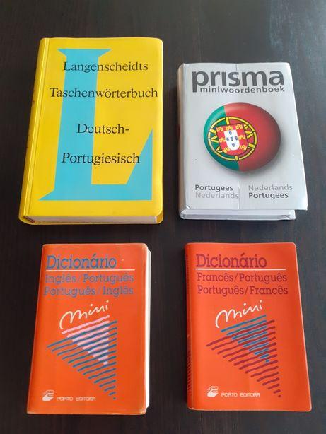 4 Dicionários usados