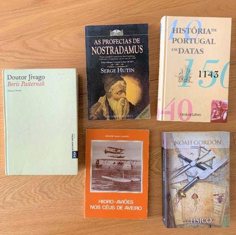 Livros em 2a mão variados!