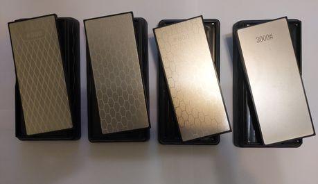 Двухсторонние алмазные точильные камни бланки точилка для ножей