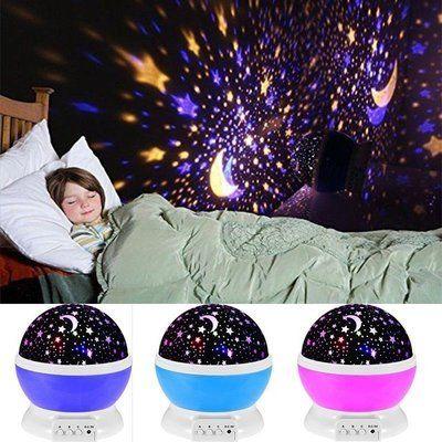 Детский ночник - проектор звездного неба Star Master Dream , подарок