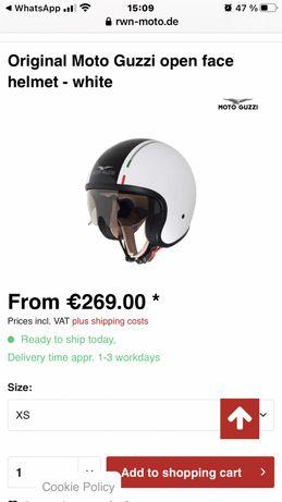 Шлем Original Moto Guzzi