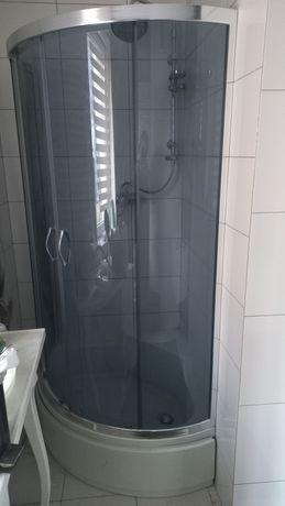 Kabina prysznicowa 80 cm głęboki brodzik