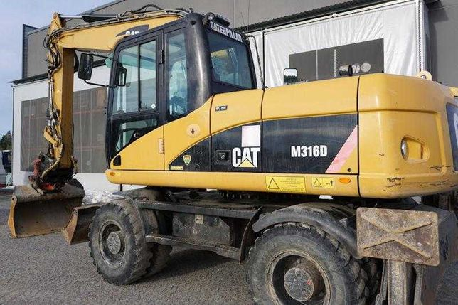 Колесный экскаватор CAT 316 D 2008 года