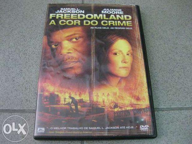 """DVD """"Freedomland- A Cor do Crime"""" com Samuel L.Jackson"""