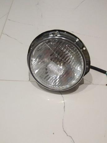 Lampa+Gniazdo+Oprawka Reflektora DDR-Ruhla Fiat 125p