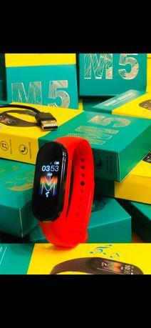 Новые mi band M5 Xiaomi фитнес браслет смарт часы