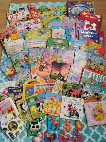 Zestaw książeczek dla dzieci 50 szt. Stan idealny