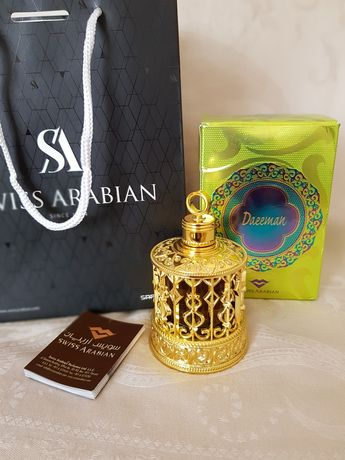 Духи арабские масляные Daeeman Swiss Arabian