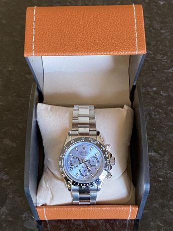 Relógio Automático Rolex Daytona Azul Novo C/Cx