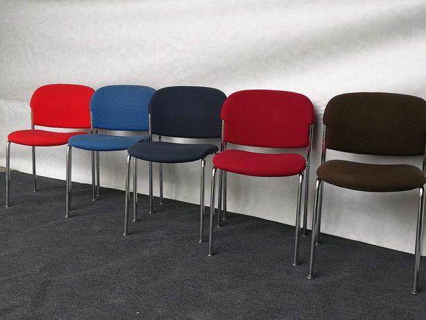 Krzesła konferencyjne biurowe firmy drabert różne kolory. Duze ilości
