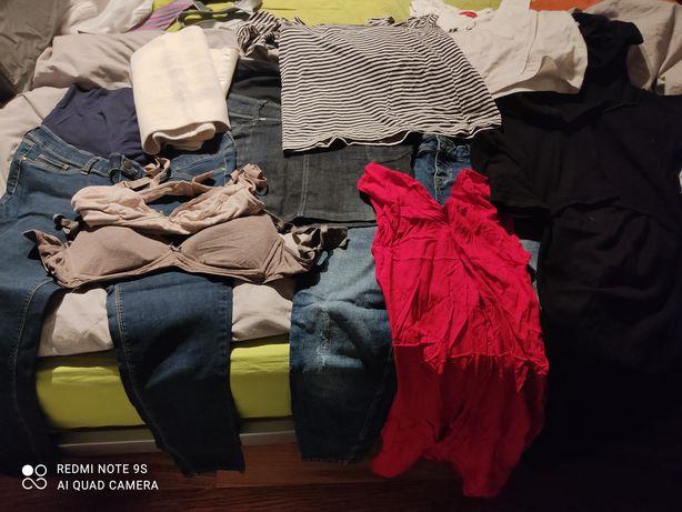 Zestaw ubrań ciążowych i do karmienia H&M, Koszulove