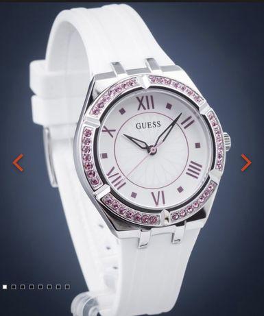 Zegarek damski Guess z rozowymi kamieniami! Nowy+ paragon!