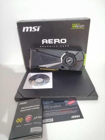 GTX 1080 MSI AERO JAK NOWY! /możliwa zamiana na rtx 2070itp.