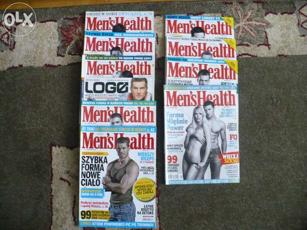 Mean's Health miesięcznik, 08-12'
