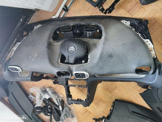 Conjunto de Airbags Citroen C3 Picasso do ano 2012